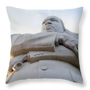 Arms Of Justice Throw Pillow