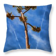 Arms Spread Wide Throw Pillow
