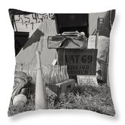 Army Boys Life Throw Pillow