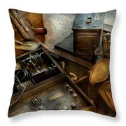 Army - Combat Ready Throw Pillow by Mike Savad
