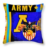Army Navy 1979 Throw Pillow