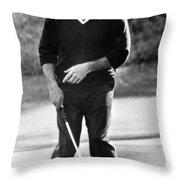 Arnold Palmer Misses A Putt Throw Pillow