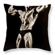 Arnold Schwarzenegger Throw Pillow
