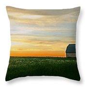 Aroostook Sunset Throw Pillow