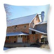 Around The Mill Throw Pillow