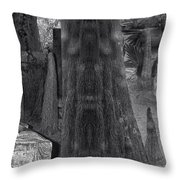 Around The Next Bend Digital Art Throw Pillow