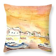 Arrecife In Lanzarote 08 Throw Pillow