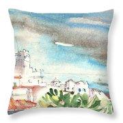 Arrecife In Lanzarote 10 Throw Pillow
