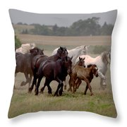 Arrington Ranch Herd - 2 Throw Pillow