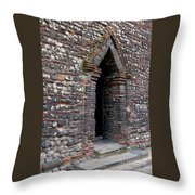 Arrowhead Doorway Throw Pillow
