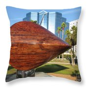 Art 2009 At Sarasota Waterfront Throw Pillow