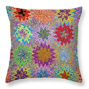 Art Abstract Background 13 Throw Pillow