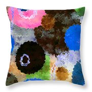 Art Abstract Background 19 Throw Pillow