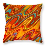 Art Abstract Geometric Pattern 26 Throw Pillow