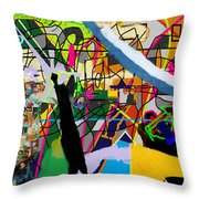 Chidush B'daas 4bb Throw Pillow