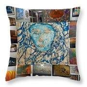 Art At Supeme Lending Throw Pillow