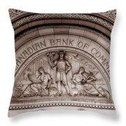 Art Deco 19b Throw Pillow