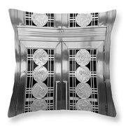 Art Deco Door 2 Throw Pillow