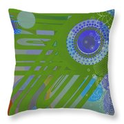 Art Deco Explosion 2 Throw Pillow