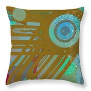 Art Deco Explosion 4 Throw Pillow
