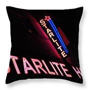 Starlite Hotel Art Deco District Miami 3 Throw Pillow