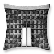 Art Deco Post Office 2 Throw Pillow