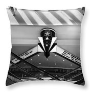 Art Deco Theatre 2 Throw Pillow
