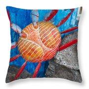 Art Follows Life Throw Pillow