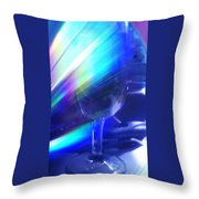 Art Glass Throw Pillow