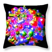 Art In Coalescence... Throw Pillow