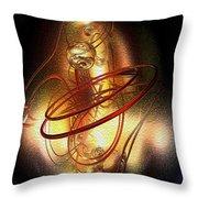 Art In Motion 2 Throw Pillow