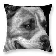 Art In The News 55- Kingston Throw Pillow