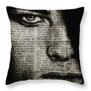 Art In The News 7 Throw Pillow