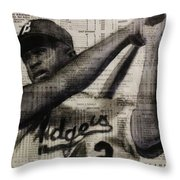Art In Thenews 16-jackie Throw Pillow