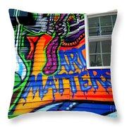 Art Matters Throw Pillow