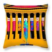 Art Museum -philadelphia Throw Pillow