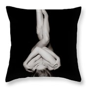 Art Of A Woman Throw Pillow by Jt PhotoDesign