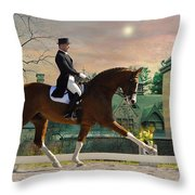 Art Of Dressage Throw Pillow