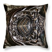 Art Of The Cannon Throw Pillow