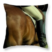 Art Of The Horse Throw Pillow