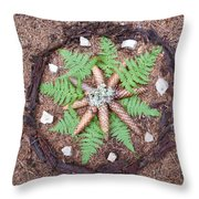 Art Of The Woods Throw Pillow