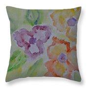 Art Of Watercolor Throw Pillow