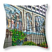Art On The Wall Throw Pillow