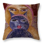 Art Picasso Cats Throw Pillow