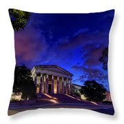 Art Road Throw Pillow