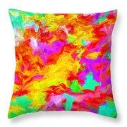 Art Series 01 Throw Pillow