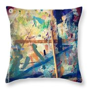 Art Table 7 Throw Pillow