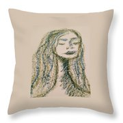 Art Therapy 132 Throw Pillow