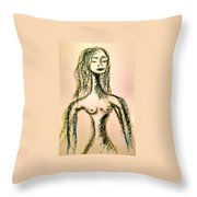 Art Therapy 133 Throw Pillow