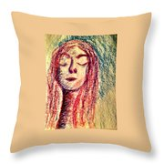Art Therapy 153 Throw Pillow